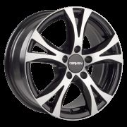 CARMANI 9 Compete black polish 5x120 R16 7J ET35